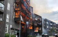 При пожаре в Лондоне сгорели два десятка квартир