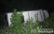 В Житомирской области перевернулась маршрутка с пассажирами