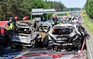 Масштабное ДТП в Польше: пожар и шестеро погибших