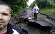 Дождь смыл дороги в Черкасской области – СМИ