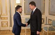 Зеленский обсудил Донбасс с главой ОБСЕ