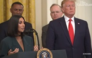 Ким Кардашьян встретилась с Трампом в Белом доме