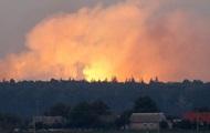 Под Воронежем горит полигон с боеприпасами: слышны взрывы