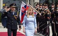 Новая президент Словакии приняла присягу