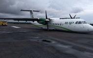 В Бразилии пилот посадил самолет без шасси
