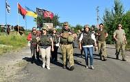 Зону проведення ООС відвідала делегація з Литви