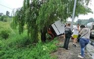 В Винницкой области перевернулся автобус: шесть пострадавших