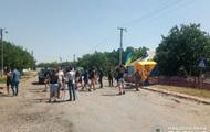 В Николаевской области протестующие перекрыли трассу