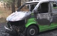 В Луганской области взорвали инкассаторскую машину ПриватБанка