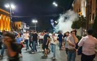 Разгон митинга в Тбилиси: пострадали 52 человека