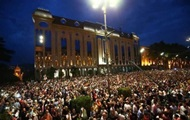 Полиция оттеснила протестующих от здания парламента Грузии