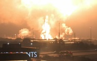 Названа причина масштабного пожара на заводе в США