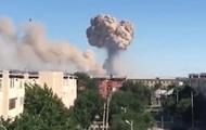 Пожар на складе боеприпасов: в Казахстане эвакуируют город