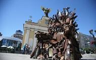 В Киев привезли Железный трон Востока