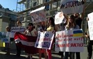 РФ в ПАСЕ: в Киеве пикетировали 10 посольств