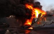 Пожар на складе под Киевом локализован