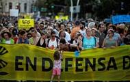 В Мадриде протестовали против отмены ограничения на въезд авто