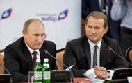 Медведчук признался в частых встречах с Путиным