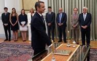 Новый премьер-министр Греции принес присягу