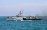 В Азовское море вошел российский противолодочный корабль