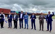 В Украину запустили международный контейнерный поезд
