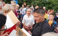 Савченко не пустили на оккупированный Донбасс