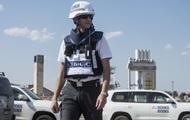 ОБСЕ: В районе разведения сил стреляет артиллерия
