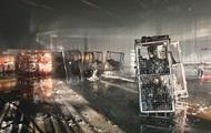 В Мукачево горел склад Новой почты