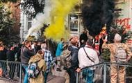 В центре Киева напали на офис лотереи МСЛ