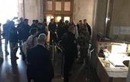 В ГБР ворвались  сторонники Порошенко