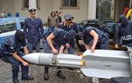 У воевавших на Донбассе итальянцев изъяли ракету