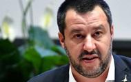 Полиция Италии опровергла слова Сальвини о покушении со стороны украинцев