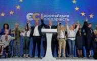 На зарубежных округах Европейская солидарность на 1% отстает от Слуги народа - данные ЦИК