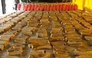 В Сингапуре изъяли рекордную партию слоновых бивней