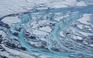 Гренландия тает из-за аномальной жары