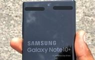 Появилось реальное фото Samsung Galaxy Note 10+