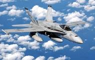 В Калифорнии упал истребитель F/A-18