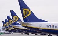 Ryanair более чем вдвое увеличил число рейсов в Украину