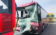 В Польше при столкновении автобусов пострадали 27 человек