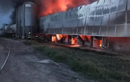 Под Киевом снова горит птицефабрика
