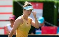 Свитолина пробилась в четвертьфинал в Торонто