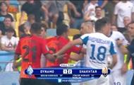 Игроки Динамо и Шахтера устроили потасовку