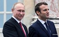 Путин и Макрон обсудят Украину и