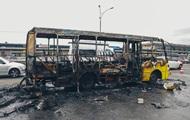 В Киеве взорвалась пригородная маршрутка