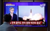 КНДР провела запуск двух неопознанных снарядов