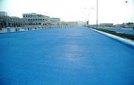В столице Катара появилась голубая дорога