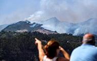 На Канарах из-за пожаров эвакуировали пять тысяч человек