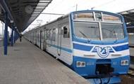 В Киеве произошел сбой в движении городской электрички