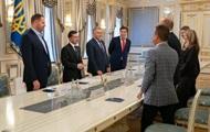 Зеленский встретился с руководством Всемирного конгресса украинцев