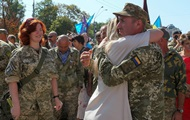 По улицам Киева прошел Марш защитников